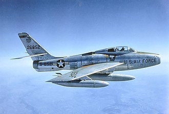 Republic F-84F Thunderstreak - USAF F-84F Thunderstreak