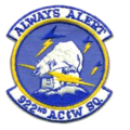922d Aircraft Control and Warning Squadron - Emblem.png