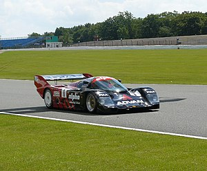 All-Japan Sports Prototype Championship - The Yokohama Advan Porsche 962C which won the championship three times.