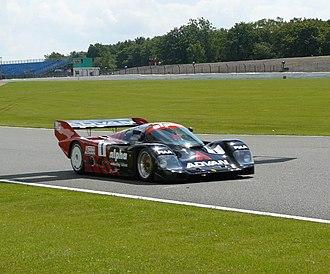 All-Japan Sports Prototype Championship - The Yokohama Advan Porsche 962C which won the championship three times.