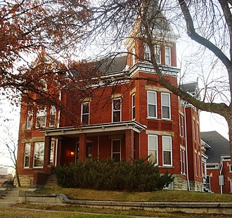 National Register of Historic Places listings in Linn County, Iowa - Image: A.T. Averill House 2