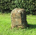 historic milestone near Lacock