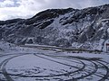 A832 viewpoint car park in the snow - geograph.org.uk - 741298.jpg