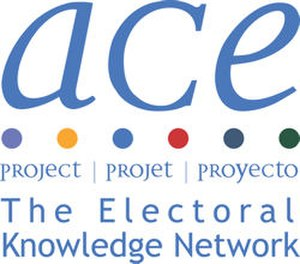 ACE Electoral Knowledge Network - Image: ACE Project Logo