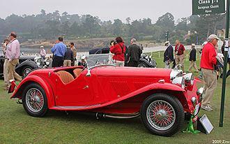 AC Cars - AC 16/80 open 2-seater 1939 body by March
