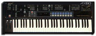 Akai AX60 analogue synthesizer