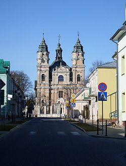 A 19 168 z 31.01.1967 Kościół, ob. par. p.w. św. Ludwika, mur., XVIII we Włodawie.jpg
