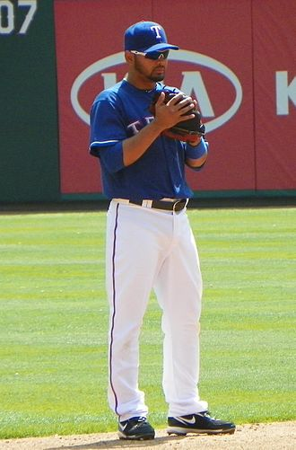 Andrés Blanco - Blanco playing for the Rangers in 2011