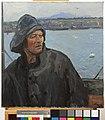 A Deck Hand, North Sea Patrol, 1917 Art.IWMART1397.jpg