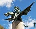 A Fada e o Dragón, Xaime Quessada, Vigo.JPG