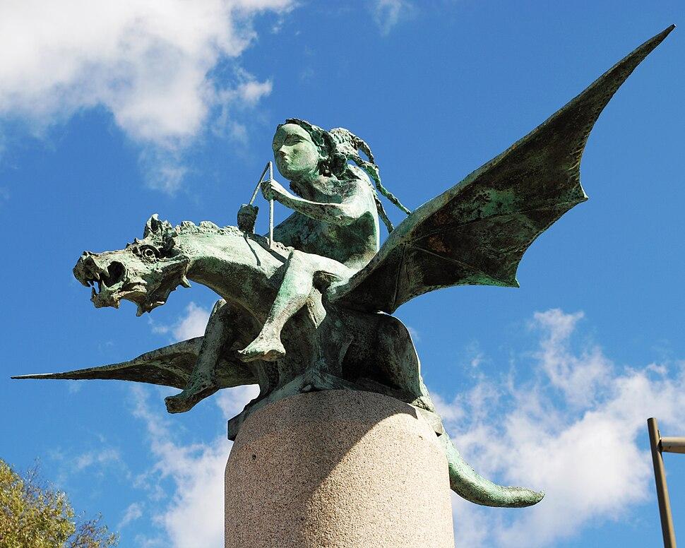 A Fada e o Dragón, Xaime Quessada, Vigo