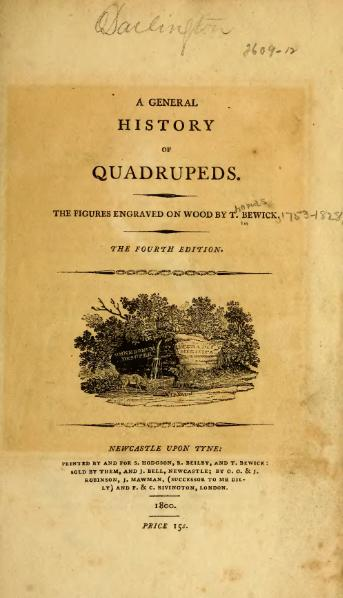 File:A General History of Quadrupeds.djvu