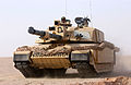 A QRL Challenger 2 at a media demonstratio. Kuwait. 13-03-2003 MOD 45142648.jpg
