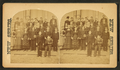 A group of students on the steps of their school, by J. S. Lefavour.png