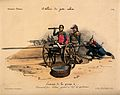 A hybrid of a cannon and a clyster is attended by General Georges Mouton and Gabriel Delessert Wellcome V0011727.jpg