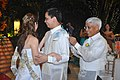 A traditional money dance of newly weds Filipino Couple in the Philippines.jpg