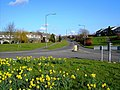 A view east from a roundabout in Yate, Bristol - geograph.org.uk - 364820.jpg