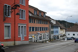 Aadorf village main street