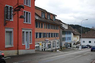 Aadorf - Aadorf village main street