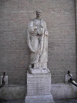 Talking statues of Rome - Image: Abate luigi 1