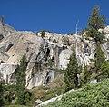 Above Lower Echo Lake trail (3071798303).jpg