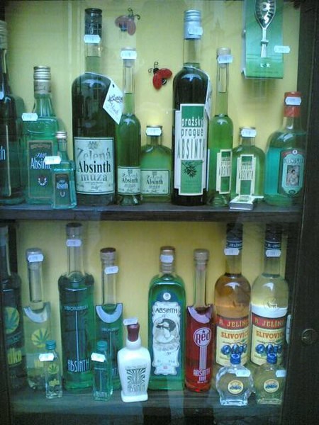 Absinthe Bottle Collection