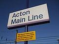Acton Main Line stn signage.JPG