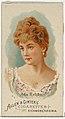 Ada Rehan, from World's Beauties, Series 1 (N26) for Allen & Ginter Cigarettes MET DP838113.jpg