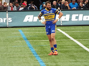 Adam Cuthbertson - Cuthbertson playing for the Leeds Rhinos in 2016.
