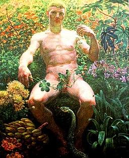 Adam i paradis (Zahrtmann)