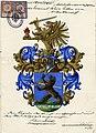 Adelsakt - Werz von Ostenkampf 1918 - Wappen.jpg
