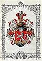 Adelsdiplom - Watteck von Hermannshort 1880 - Wappen.jpg