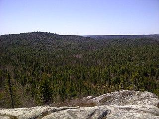 Eastern Shore Granite Ridge Mountain ridge in Nova Scotia, Canada