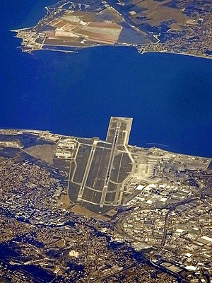 Marseille Provence Airport - Aerial view