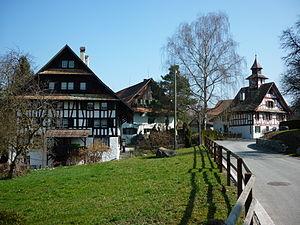 Aesch, Zürich - Image: Aesch ZH Dorfkern