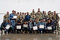 Afghan Uniform Police from Police Substation 4 pose with U.S. Soldiers from the 58th Military Police Company after graduating from training in Kandahar province, Afghanistan, Feb 120202-A-QO451-009.jpg