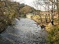 Afon Lwyd upstream from Caerleon Road, Ponthir - geograph.org.uk - 1770199.jpg
