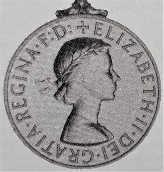 Africa General Service Medal - Image: Africa General Service Medal 1915 (Obverse for clasp Kenya)