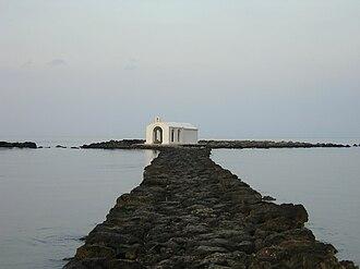 Agios Nikolaos (Chania) - The church of Agios Nikolaos on the islet of Agios Nikolaos.