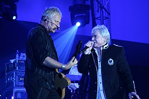 Air Supply - Air Supply at the Subic Convention Center, Philippines on 12 June 2008.
