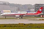 Airbus A321-211SL Sichuan Airlines (D-AZAC - B-8438) @ Airbus factory Hamburg Finkenwerder (EDHI - XFW).jpg