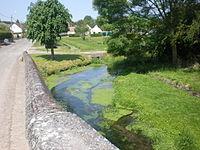 Airion (Oise), l'Arré depuis le pont.JPG