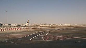 Abu Dhabi International Airport - Image: Airport Area Abu Dhabi United Arab Emirates panoramio