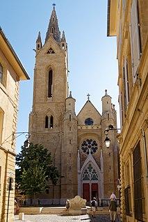 Church in Aix-en-Provence, France