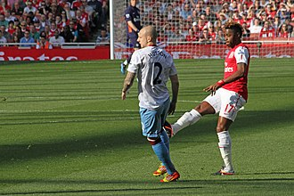 Alex Song - Song playing for Arsenal