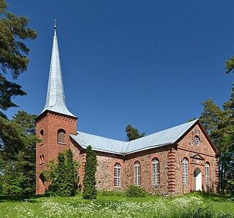 Alatskivi - Image: Alatskivi kirik