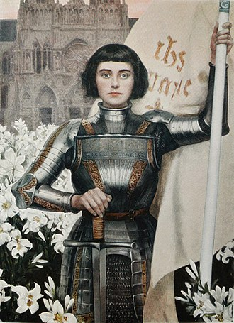 Albert Lynch - A 1903 engraving of Joan of Arc by Lynch featured in the Figaro Illustre magazine