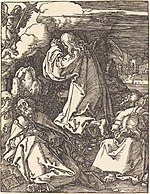 Albrecht Dürer, Christ on the Mount of Olives, probably c. 1509-1510, NGA 6760.jpg