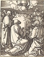 Albrecht Dürer, The Ascension, probably c. 1509-1510, NGA 6784.jpg