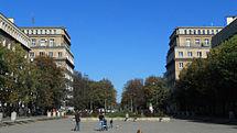 AlejaRóż-WidokOgólny-POL, Kraków